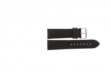 Ægte læder mørkebrun 22mm PVK-283