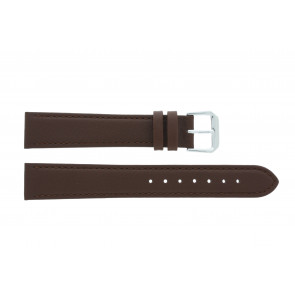 Ægte læderrem brun 12mm PVK-054