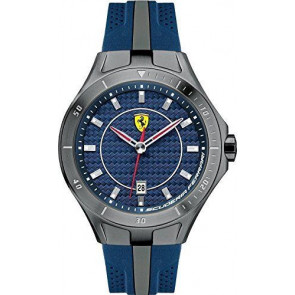 Ferrari urrem SF103.7 / 0830081 / SF689300057 / Scuderia Gummi Blå 22mm