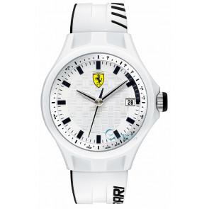 Ferrari urrem SF101.6 / 0830124 / SF689300071 / Scuderia Silikone Hvid 22mm