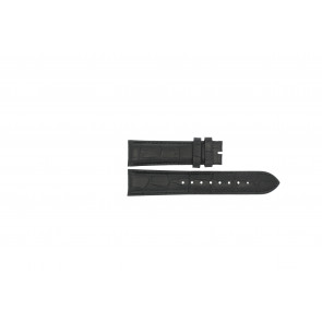 Esprit urrem ES103342006 Læder Sort 20mm + syning sort