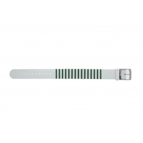 Lacoste urrem 2000892 / LC-84-3-14-2596 Silikone Grøn 18mm