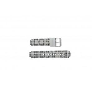 Lacoste urrem LC-46-1-29-2224 / 609302262 / 2010532 Silikone Hvid 14mm