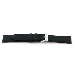 Urrem F012 XL Læder Sort 18mm + standard syning
