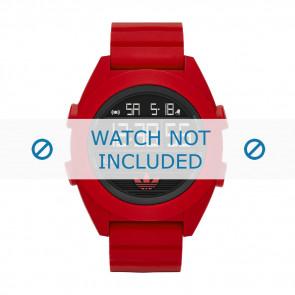 Adidas urrem ADH2909 Silikone Rød 24mm