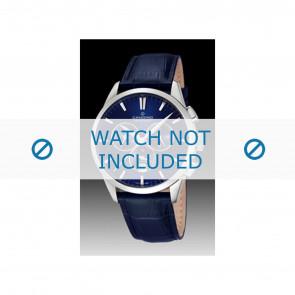 Candino urrem C4517-3 Læder Blå + syning blå