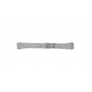 Casio urrem A158WEA-1EF Stål Sølv 18mm