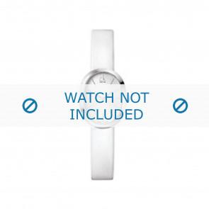 Calvin Klein urrem K37232 Læder Hvid