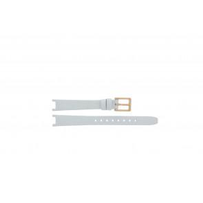 DKNY urrem NY8784 Læder Hvid 13mm + standard syning