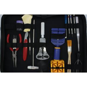 Sæt med værktøj til reparation af ure