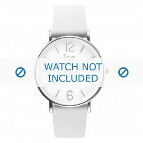 Ice Watch urrem CT.WSR.36.L.16 Læder Hvid 18mm