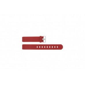 Jacob Jensen urrem 700 serie - 751 Gummi / Plastik Rød 17mm