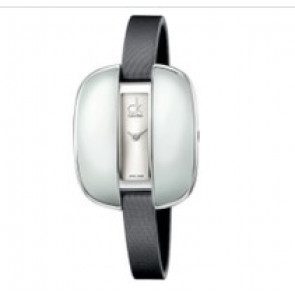 Calvin Klein urrem K2E236-K600000084 Læder Grå 9mm