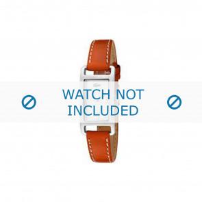 Lacoste urrem 2000310 / LC-05-3-14-0006 Læder Orange 12mm + syning hvid