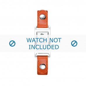 Lacoste urrem 2000385 / LC-05-3-14-0009 Læder Orange 12mm + syning hvid