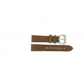 Max urrem BR / 20mm  Læder Brun 20mm + syning brun