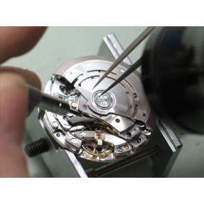 Udskiftning af lille urværk, (brug for at blive trukket op)