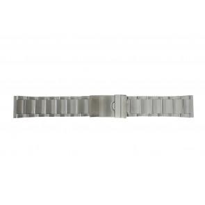 Urrem Y120-K63 Metal Sølv 24mm