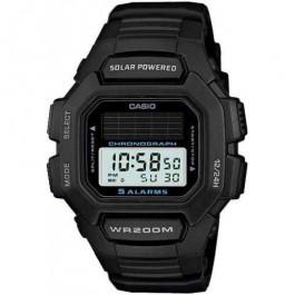Urrem Casio HDD-S100 / W-S220 / 10395874 Gummi Sort 16mm