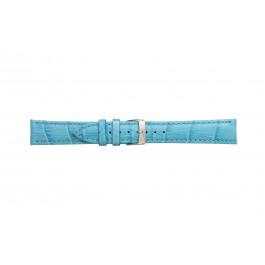 Morellato urrem Bolle X2269480168CR22 / PMX168BOLLE22 Krokodille skind Blå let 22mm + standard syning