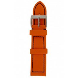 Urrem Davis BB1276 Læder Orange 24mm
