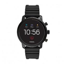 Fossil FTW4018 Q Explorist HR GEN 4 Digital Smartwatch Herrer Sort
