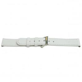 Urrem Universel H500 Læder Hvid 22mm