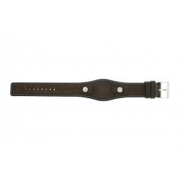 Urrem Fossil JR8130 Læder Brun 10mm