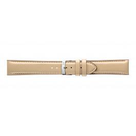 Morellato urrem Quercia X4329785027CR24 / PMX027QUERCI24 Glat læder Elfenben 24mm + standard syning