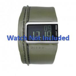 Urrem Diesel DZ7053 Læder Grøn 28mm