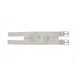 Urrem Universel UI30 Læder Hvid 24mm