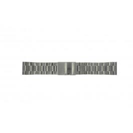 Urrem Fossil FS4662 / 12XXXX / 25XXXX Stål Anthracite grå 24mm