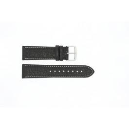 Urrem Universel 307R.01 Læder Sort 20mm