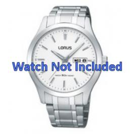 Lorus urrem VX43-X074 Stål Sølv 20mm