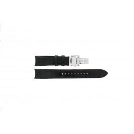 Urrem Seiko 6G34-00E0 / SRL021P1 / 4A072JL Læder Sort 21mm