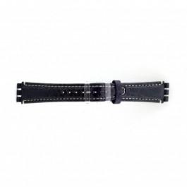 Urrem Swatch (alt.) ES.IRON-2.05 Læder Blå 19mm
