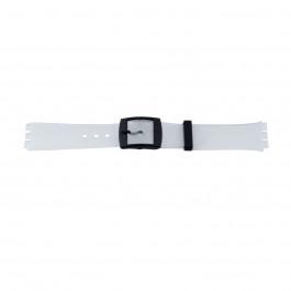 Urrem Swatch (alt.) 51.00 Plast Gennemsigtig 17mm