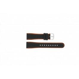 Urrem Timex P2M428 Læder Sort 22mm