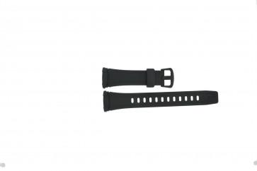 Casio urrem WVA-109HE / 10283660 Plast Sort 12mm