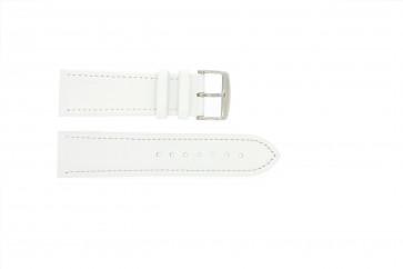 Ægte læder hvid 22mm 283