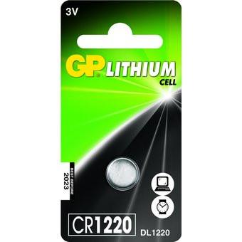 Knapcelle batteri GP CR1220