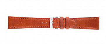 Morellato urrem Sportage X4471696086CR24 / PMX086SPORTA24 Glat læder Orange 24mm + standard syning