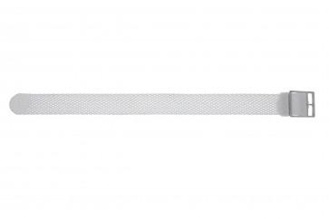 Urrem Universel PRLN.18.W Nylon/perlon Hvid 18mm