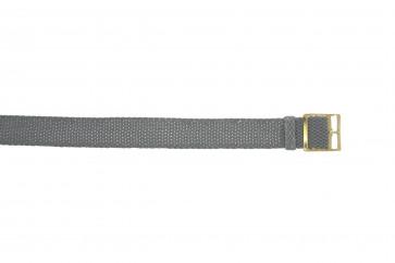 Perlon rem 20mm grå