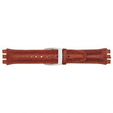 Urrem til Swatch rød 19mm 07M