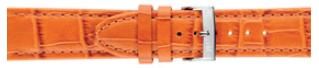 Urrem Morellato Bolle X2269480086CR24 Krokodille skind Orange 24mm
