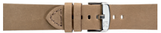 Morellato urrem Bramante X4683B90027CR24 / PMX027BRAMAN24 Glat læder Cremehvid / Beige 24mm