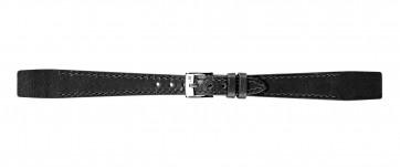 Morellato urrem Aperto Flat D2664403019CR08 / PMD019APERTP08 Læder Sort 8mm + standard syning