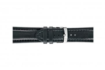 Morellato urrem Wide U4026A37019CR28 / PMU019WIDE28 Glat læder Sort 28mm + standard syning
