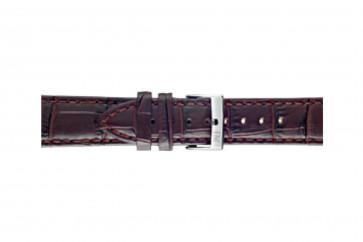 Morellato urrem Bolle X2269480181CR24 / PMX181BOLLE24 Krokodille skind Bordeaux 24mm + standard syning